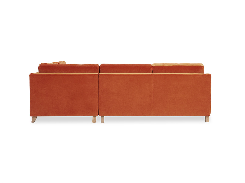 Slim Jim Comfy Corner Sofa back