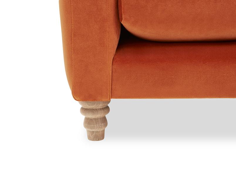 Slim Jim Comfy Corner Sofa leg detail