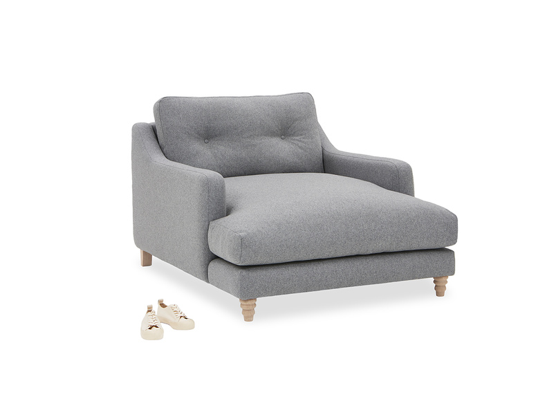Slim Jim Love Seat Chaise angled