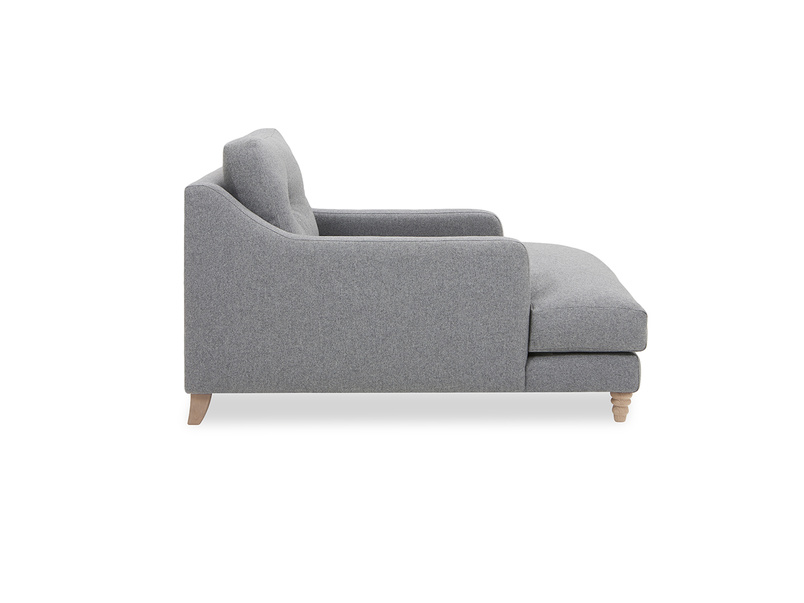 Slim Jim Love Seat Chaise Side