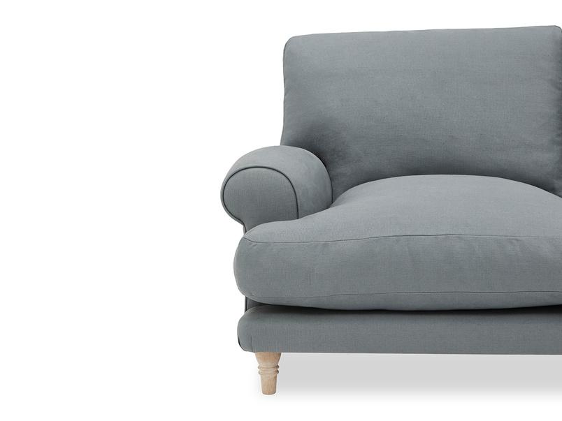 Slowcoach Chaise Sofa arm detail