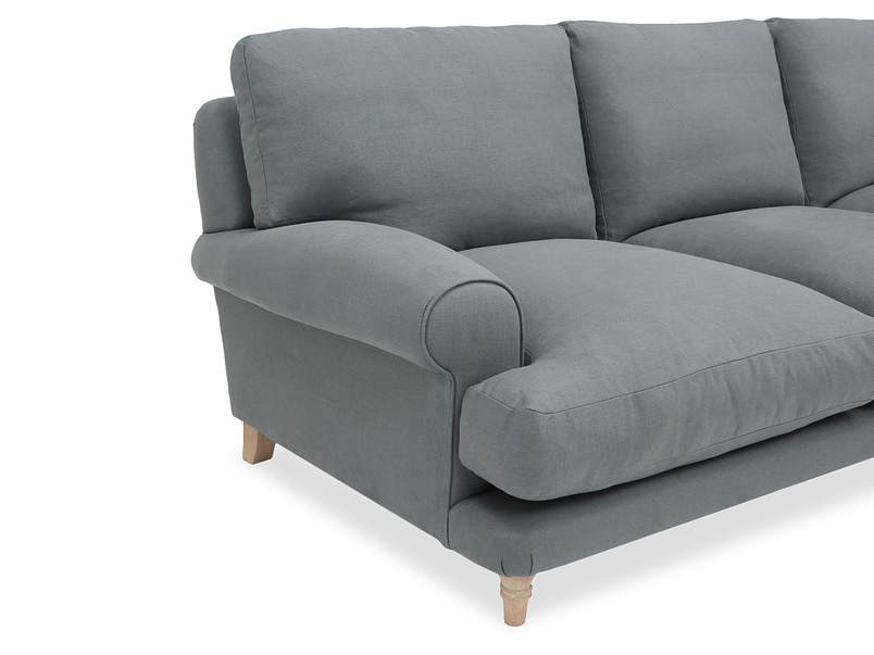 Slowcoach Chaise Sofa side view