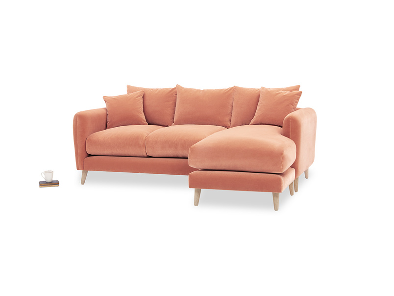 Squishmeister Comfy Chaise Sofa