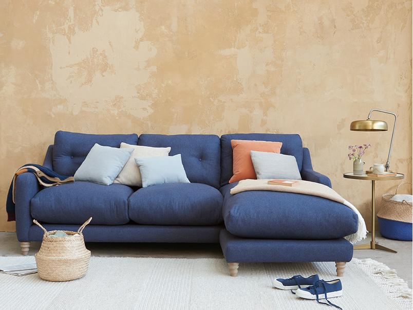 Slim Jim Comfy Chaise Sofa