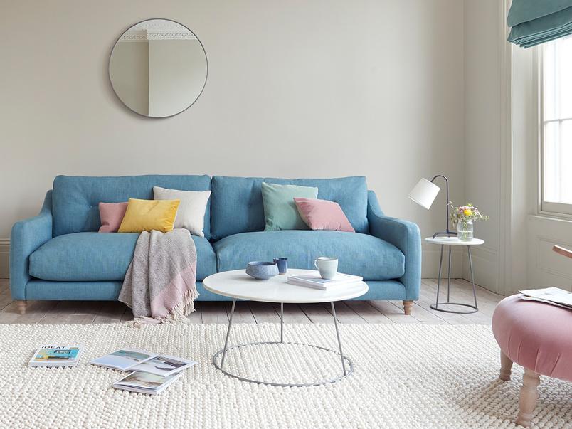 Slim Jim extra large upholstered sofa