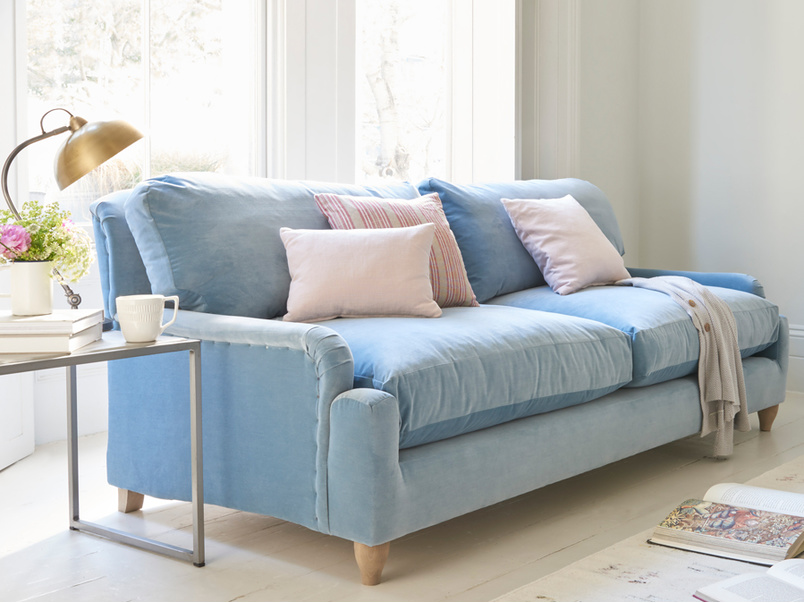 Luxury deep and comfy British Pavlova sofa