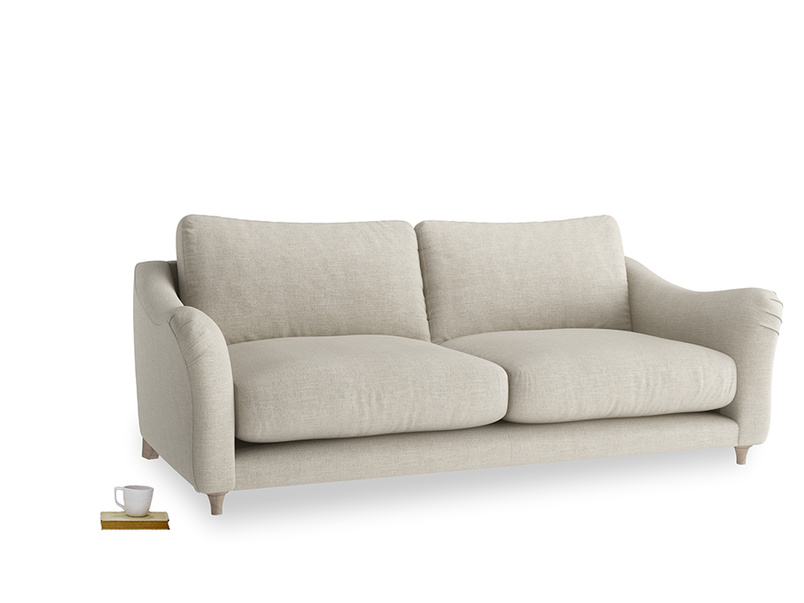 Large Bumpster Sofa in Thatch house fabric