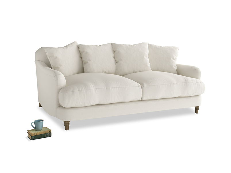 Medium Achilles Sofa in Chalky White Clever Softie