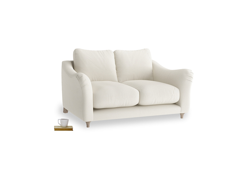Small Bumpster Sofa in Chalky White Clever Softie
