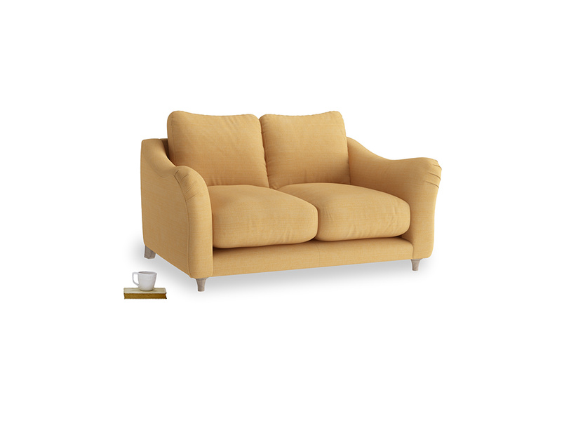 Small Bumpster Sofa in Honeycomb Clever Softie