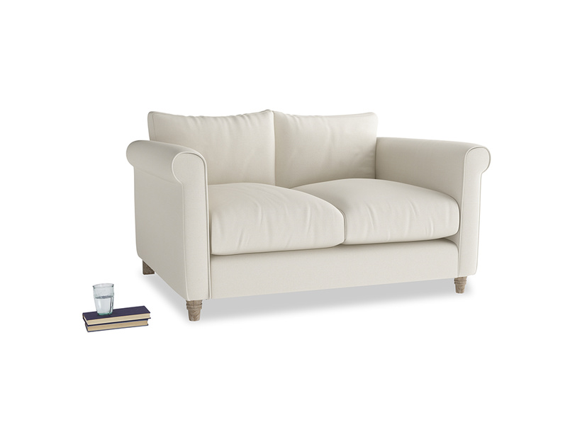 Small Weekender Sofa in Chalky White Clever Softie