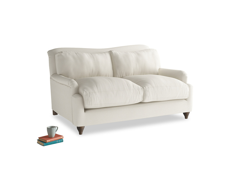 Small Pavlova Sofa in Chalky White Clever Softie