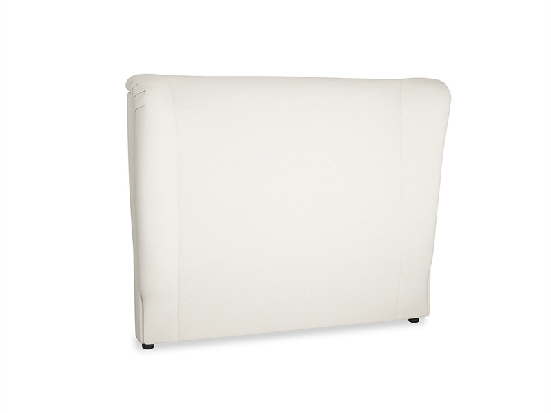 Double Hugger Headboard in Chalky White Clever Softie
