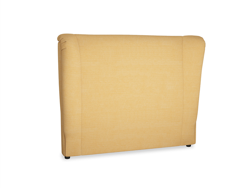 Double Hugger Headboard in Honeycomb Clever Softie