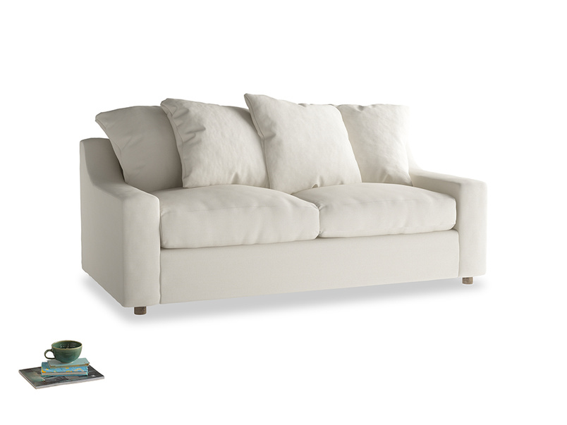Medium Cloud Sofa Bed in Chalky White Clever Softie