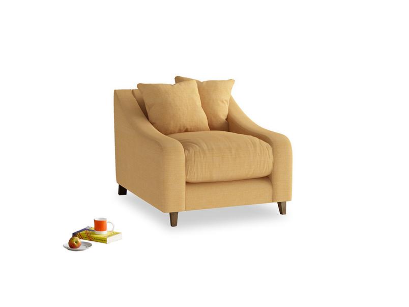 Oscar Armchair in Honeycomb Clever Softie