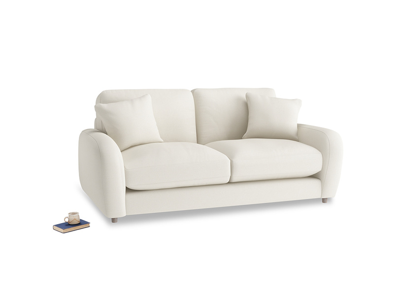 Small Easy Squeeze Sofa in Chalky White Clever Softie