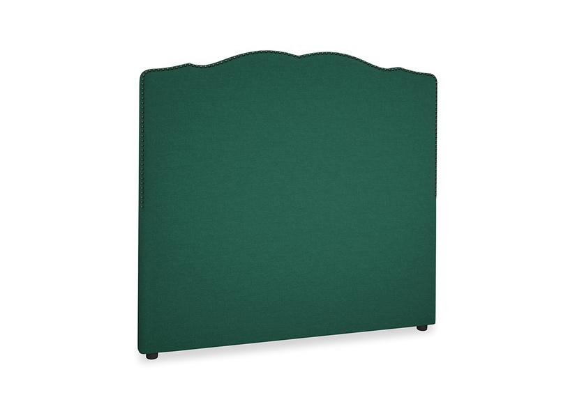 Double Marie Headboard in Cypress Green Vintage Linen