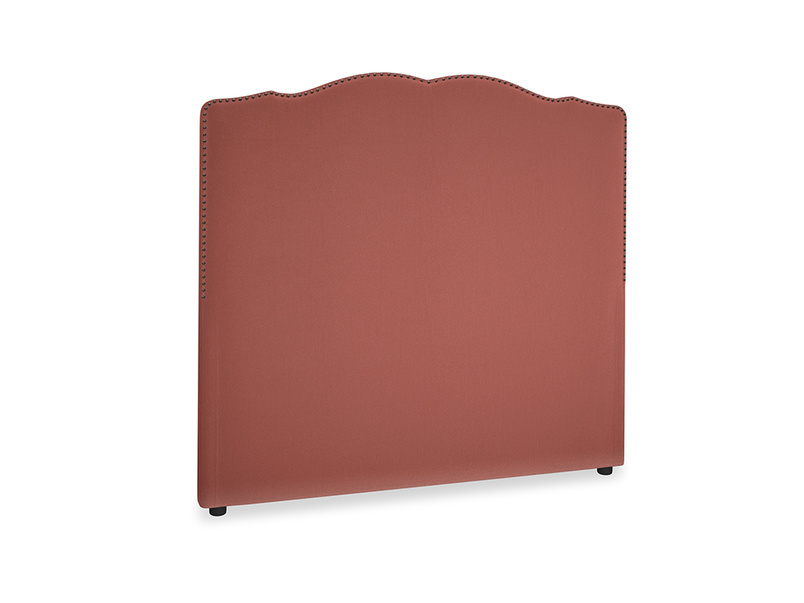 Double Marie Headboard in Dusty Cinnamon Clever Velvet
