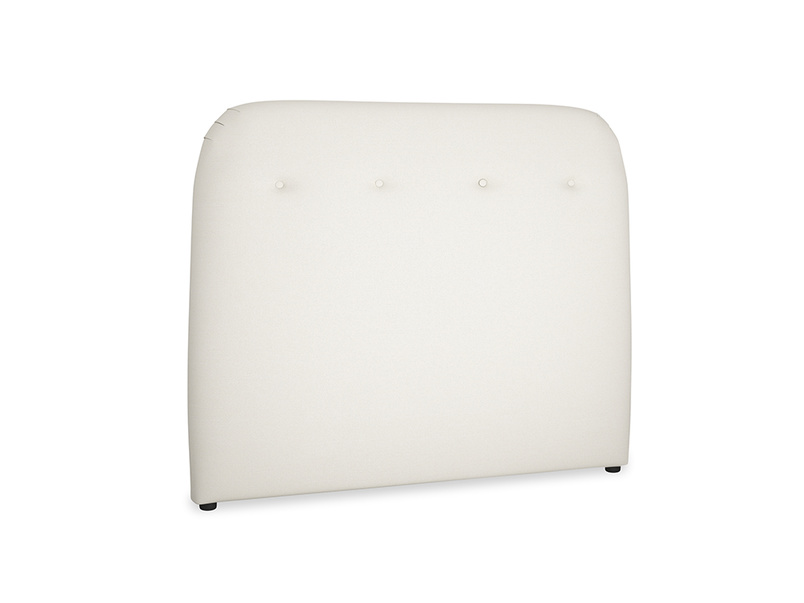 Double Napper Headboard in Chalky White Clever Softie