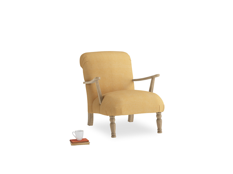 Brew Armchair in Honeycomb Clever Softie