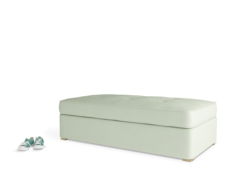 Dusk Daybed in Powder Green Clever Linen