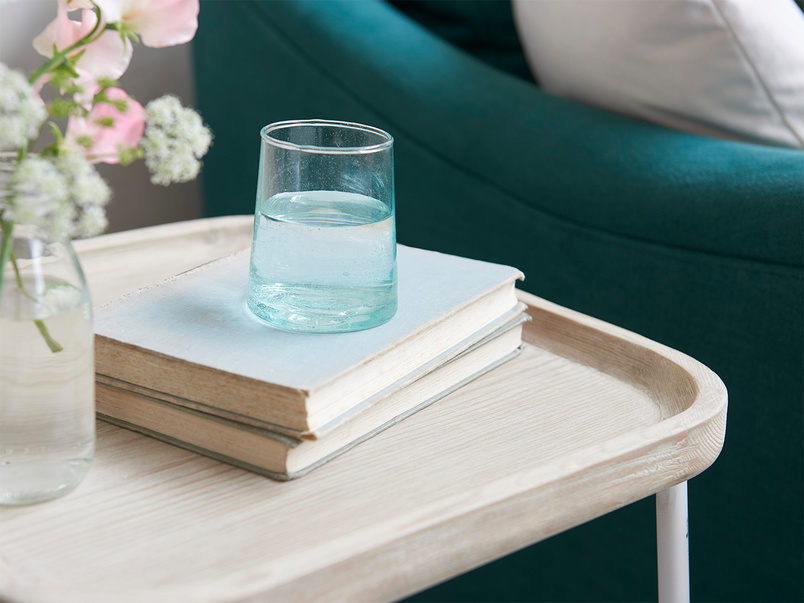 Cuppa Wooden Table Top Side Table