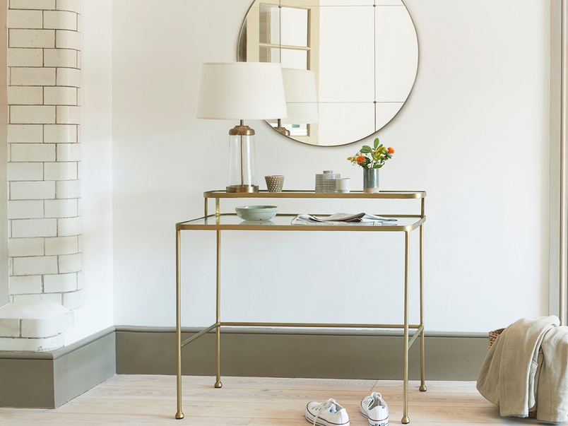 Showtime Glass Top Dressing Table