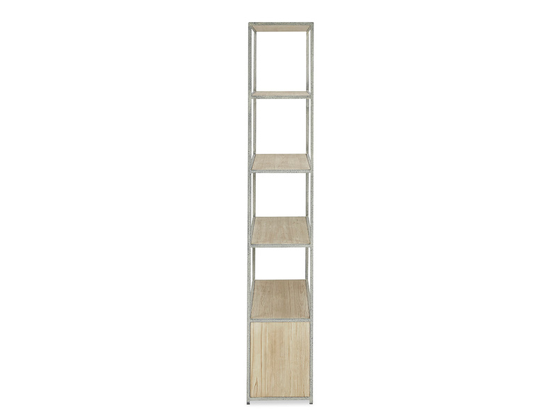 Tall Tim Slimline Shelves Side