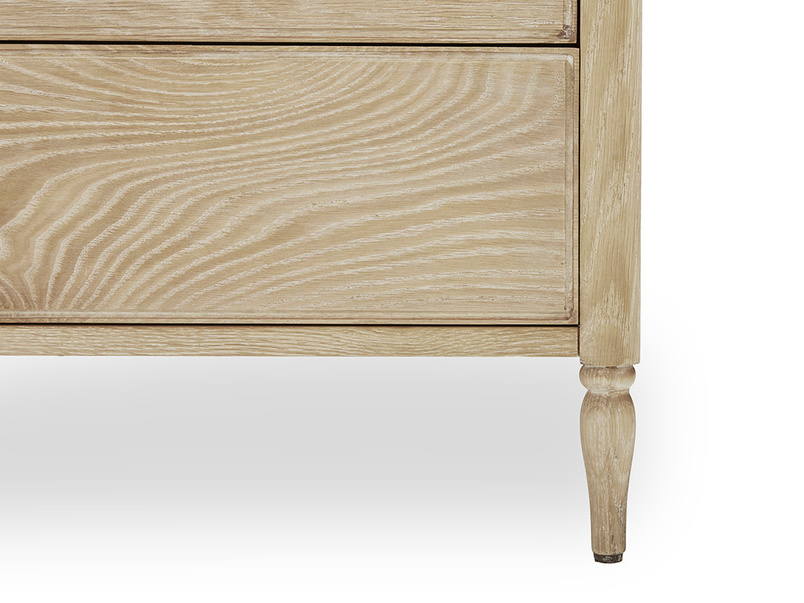 Josephine Chest of Drawers Wooden Carving