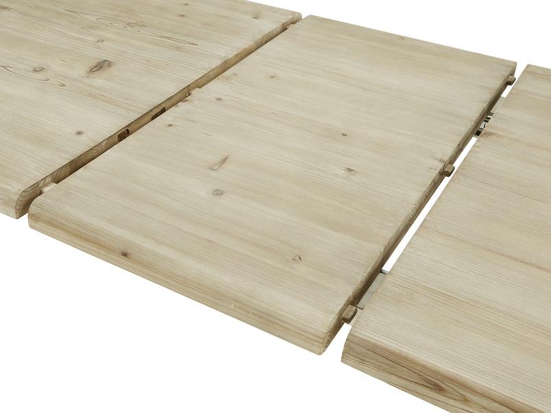 Feast Extendable Handmade Farmhouse Kitchen Table Panel Detail