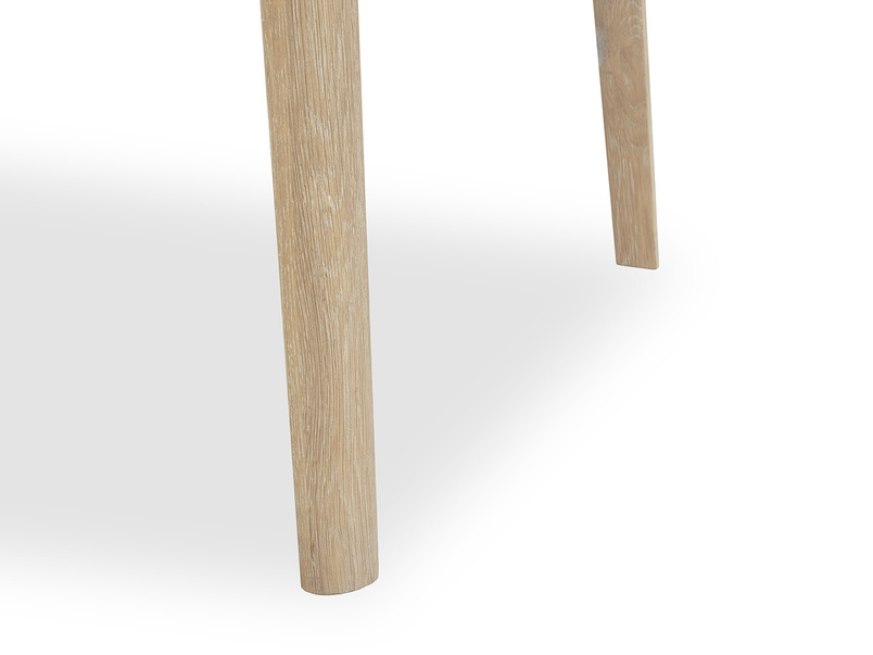 Parquet Pie dining table leg
