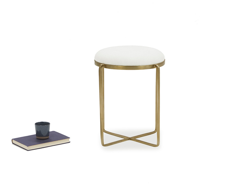 Footlight Dressing Table Stool