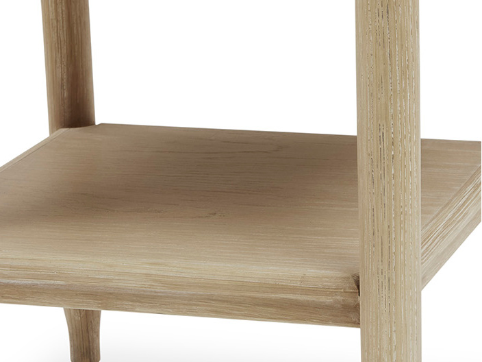 Albertine Bedside Table Shelf detail