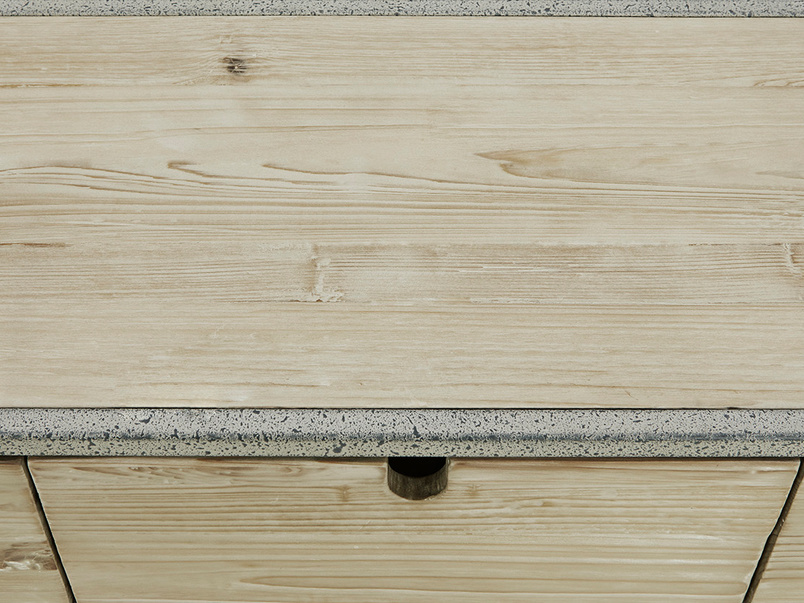 Side Tim Console Sideboard Top Detail