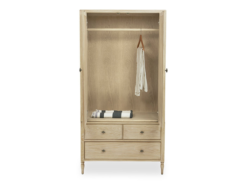 Valentine Compact French Style Wardrobe