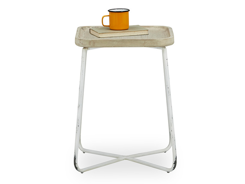 Cuppa handmade wooden side table