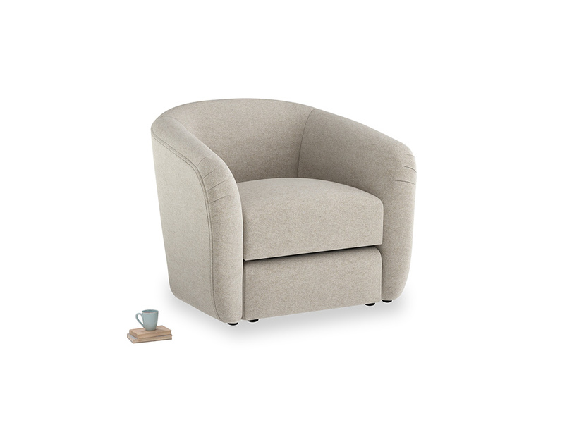 Tootsie Armchair in Birch wool