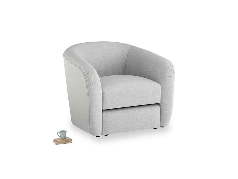 Tootsie Armchair in Cobble house fabric