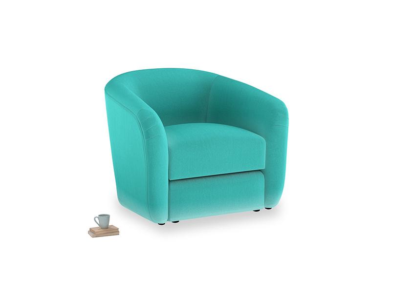 Tootsie Armchair in Fiji Clever Velvet