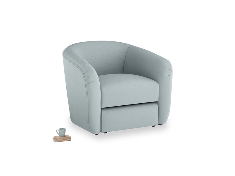Tootsie Armchair in Quail's egg clever linen