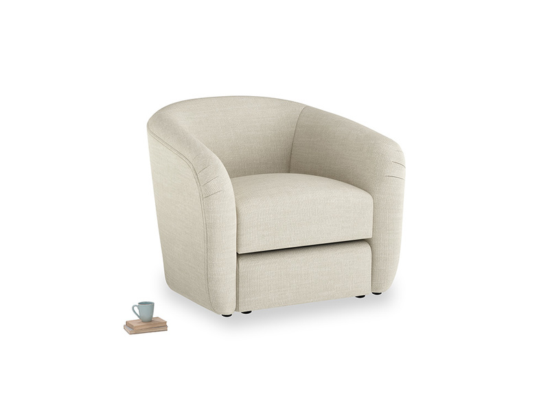 Tootsie Armchair in Shell Clever Laundered Linen