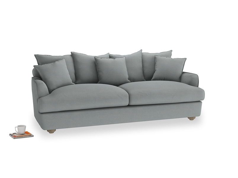 Large Smooch Sofa in Armadillo Clever Softie