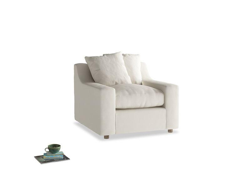 Cloud Armchair in Chalky White Clever Softie