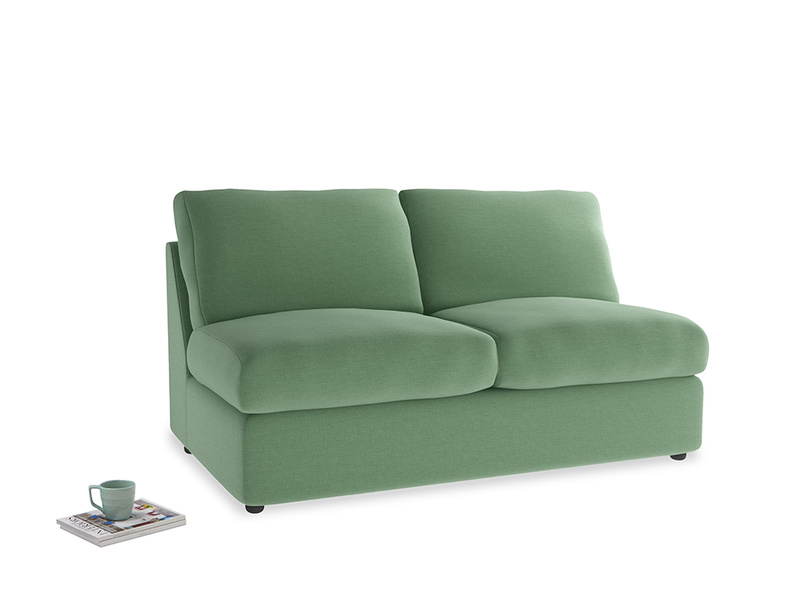 Chatnap Sofa Bed in Thyme Green Vintage Linen