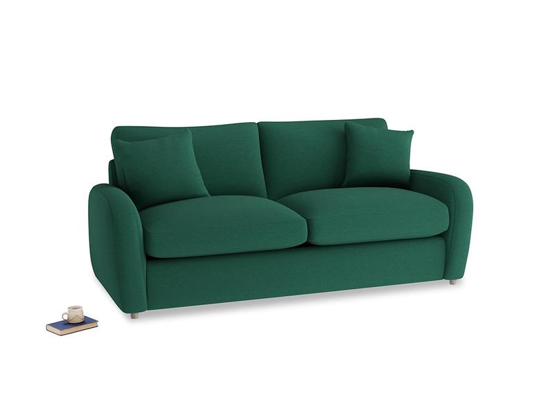 Medium Easy Squeeze Sofa Bed in Cypress Green Vintage Linen