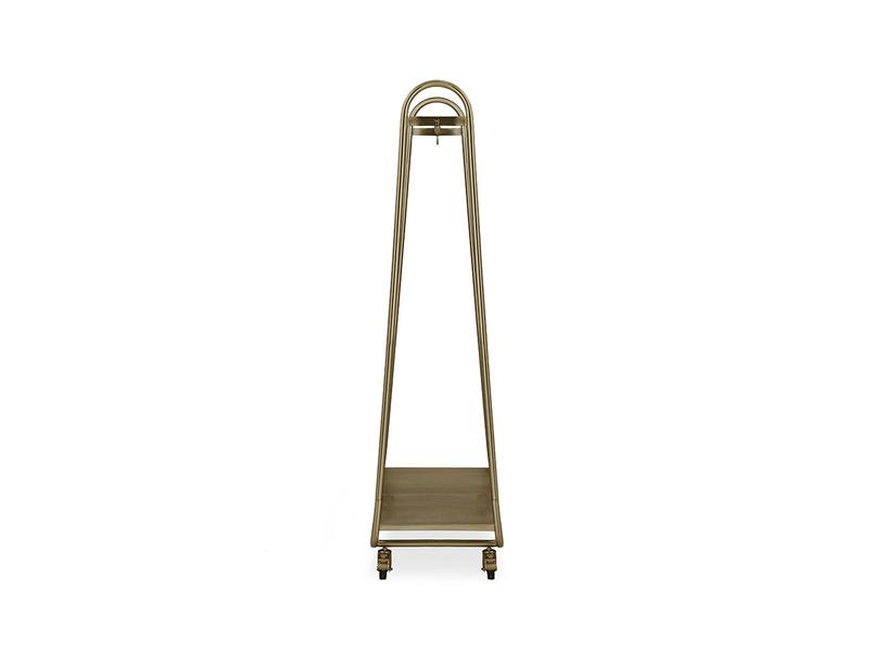 Bellboy Brass Hanging Rail Side