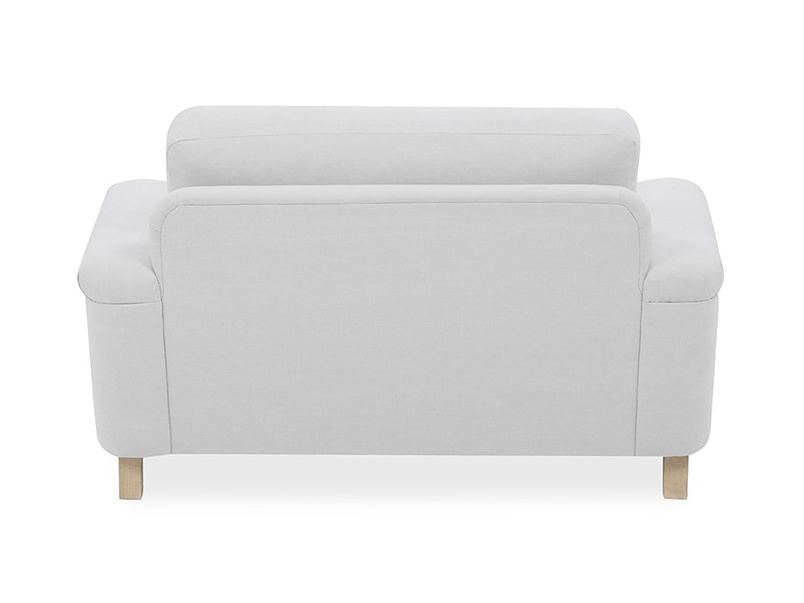 Cinema Upholstered Love Seat Back
