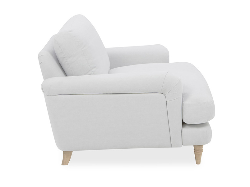 Cinema Upholstered Love Seat Side