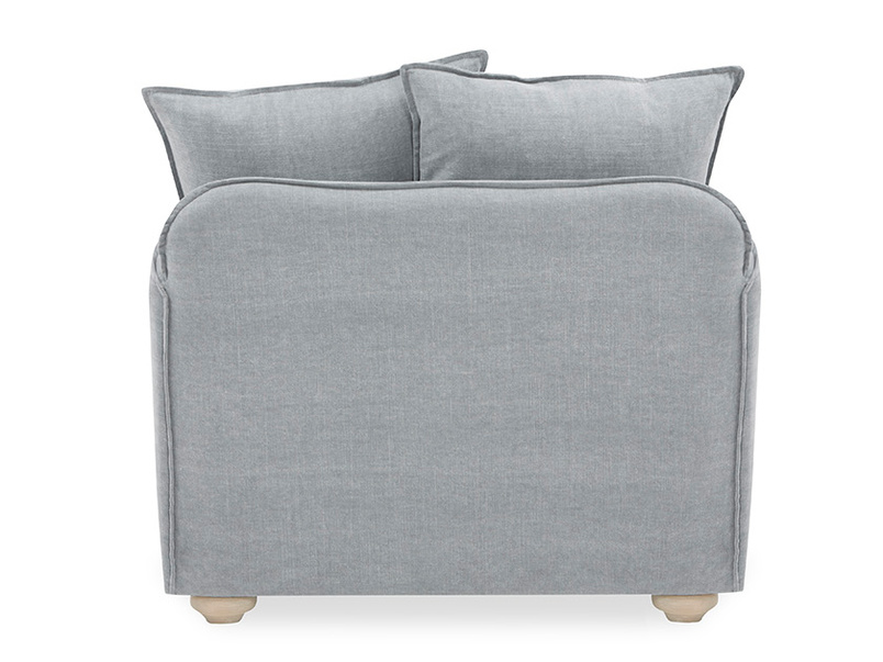 Smooch Deep Upholstered Love Seat Back